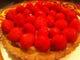 イチゴのタルト、チョコとマスカルポーネのクリーム