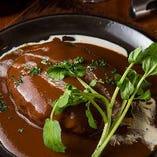 佐賀牛のハンバーグ ステーキ 和風(ジャポネソース)Orデミグラスソース