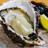 生牡蠣3個