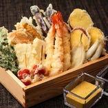 海鮮天ぷら