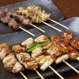おまかせ串盛り(5種)