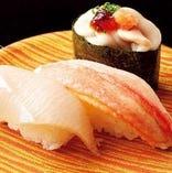 握り寿司3種