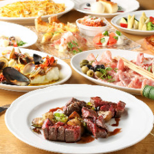 ステーキ、パスタ…定番で美味しい!