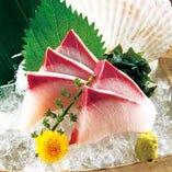 地元旬の鮮魚用意しています♪