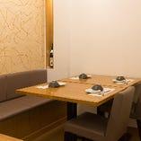 【テーブル席】3~10人程度の宴会にご利用いただけます。