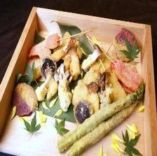 季節野菜の串揚げ