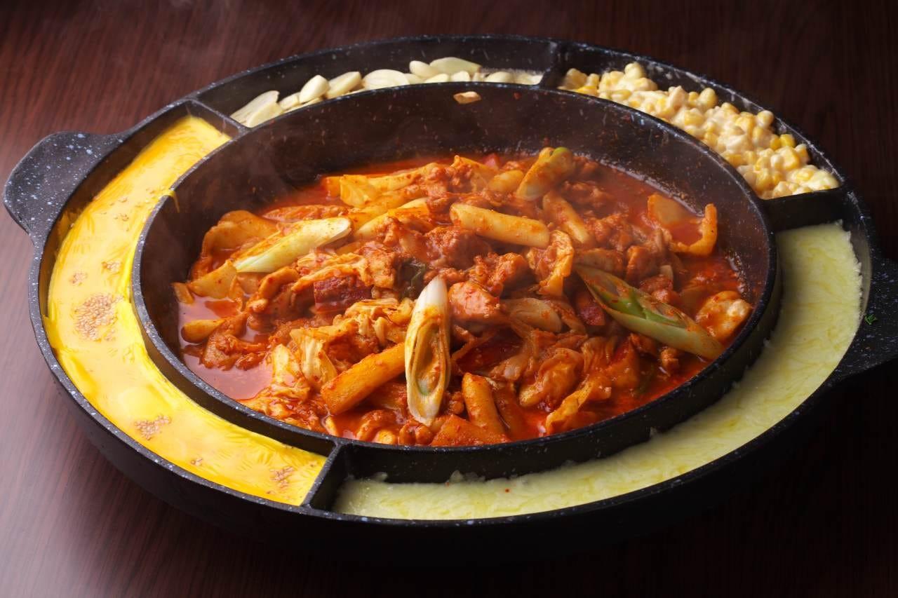様々な韓国料理の数々