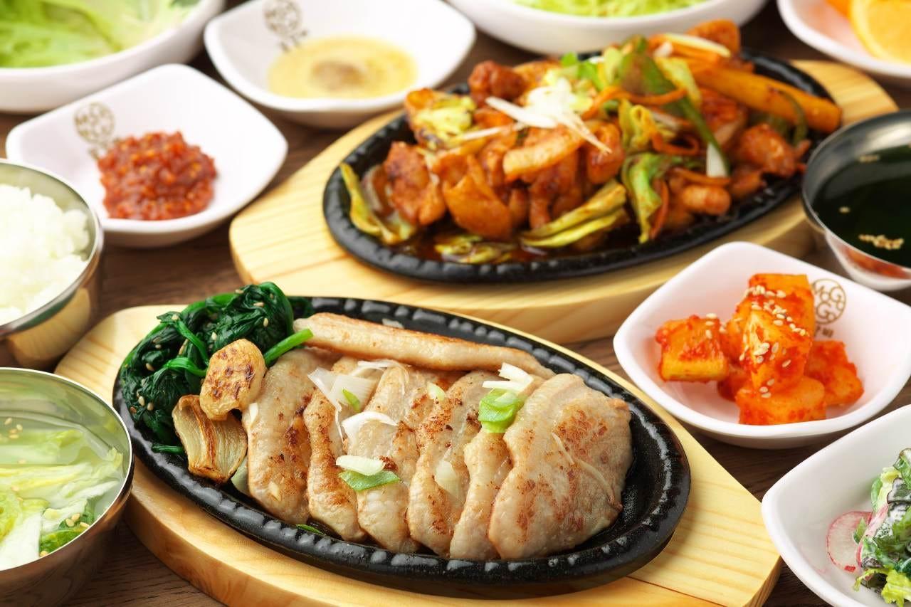 メインが選べる本場韓国料理コース!