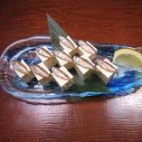 珍味!スクガラス豆腐