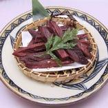 コース料理:紅芋のポテトフライ