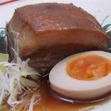 コース料理:島豚のラフテー
