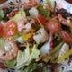 海の幸のサラダ 890円 野菜たっぷりのサラダメニュー