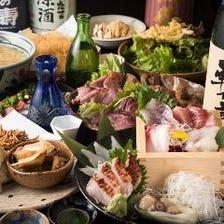 藁焼き×日本酒で楽しむ宴会 5,000円