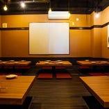 席を合わせて12名様までご利用可能なお座敷席【接待/会食/記念日/誕生日】