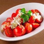 冷やしプチトマトのサラダ