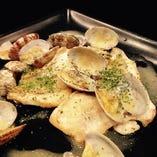 【7品目】白身魚のワイン蒸し・バターソース