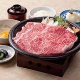 牛飼いの情熱にかけて丁寧な長期肥育を施した松阪牛は、ランチでもお楽しみいただけます
