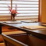 格調高い和の趣を感じさせるお座敷を3室ご用意しております