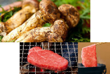 松阪牛すき焼と松茸コース