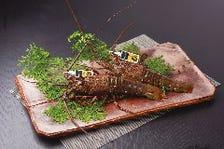 三重県産 伊勢海老と松阪牛(1%の奇跡)すき焼コース