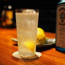 広島県瀬戸田レモンのジントニック