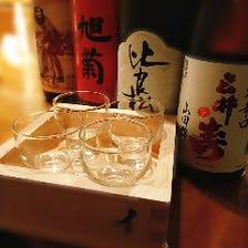 イロハニ枡 日本酒4種飲み比べ