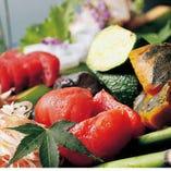 【日本野菜ソムリエ協会認定レストラン 産地直送の朝獲れ野菜は濃厚な旨み!】