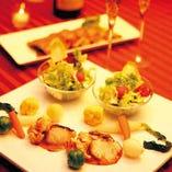 【X,MAS ◎Premium Dinner舞-MAI-コース 】 ~特別な聖夜をフルコースで贅沢に演出~