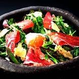【和歌山県前岡農園】 クレソンと早摘み野菜のシーザーサラダ