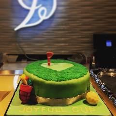 パティシエが作るオリジナルケーキ