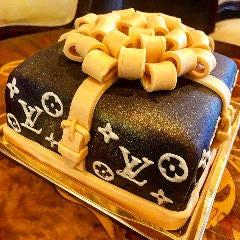 オリジナルケーキをご用意させて頂きます。