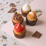 期間限定チョコレートのデミタスカップケーキ!!