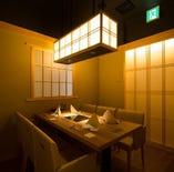 接待や会食等、大切なお食事には趣のある完全個室空間で是非