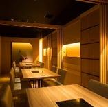 完全個室全面リニューアル!落ち着いて木の温もりを感じる空間