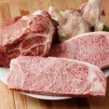 [上質肉を使用] イチボなどの希少部位もイタリア仕立てで堪能☆
