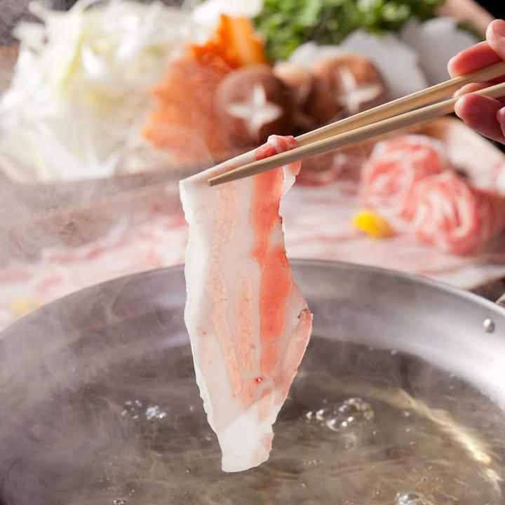 『しゃぶしゃぶ鍋』は和風、豆乳、四川風から出汁をチョイス!!