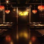 個室は最大50名様までOK!会社宴会やサークル飲みなどに最適!