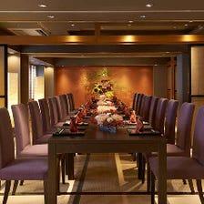 最大30名の宴会個室(テーブル席)