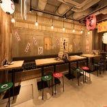 ◆大人数の宴会に!22名様迄OKのテーブル席もご用意!!
