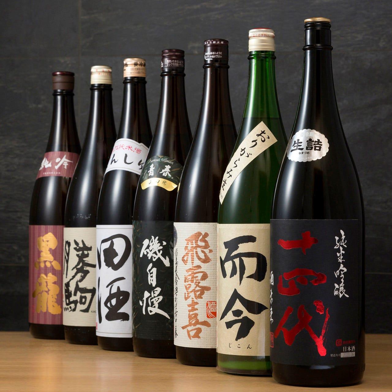 プレミア日本酒が勢ぞろい♪