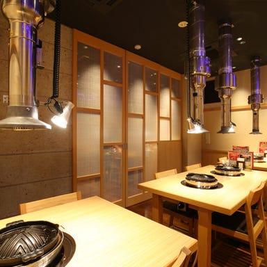 ジンギスカン霧島 浅草店 店内の画像