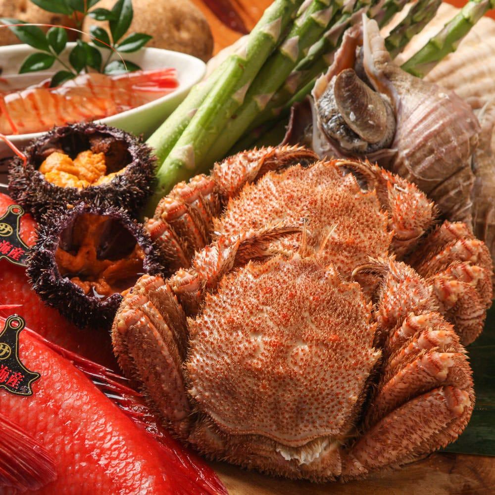 《道産海鮮》毎朝漁港からの新鮮魚介