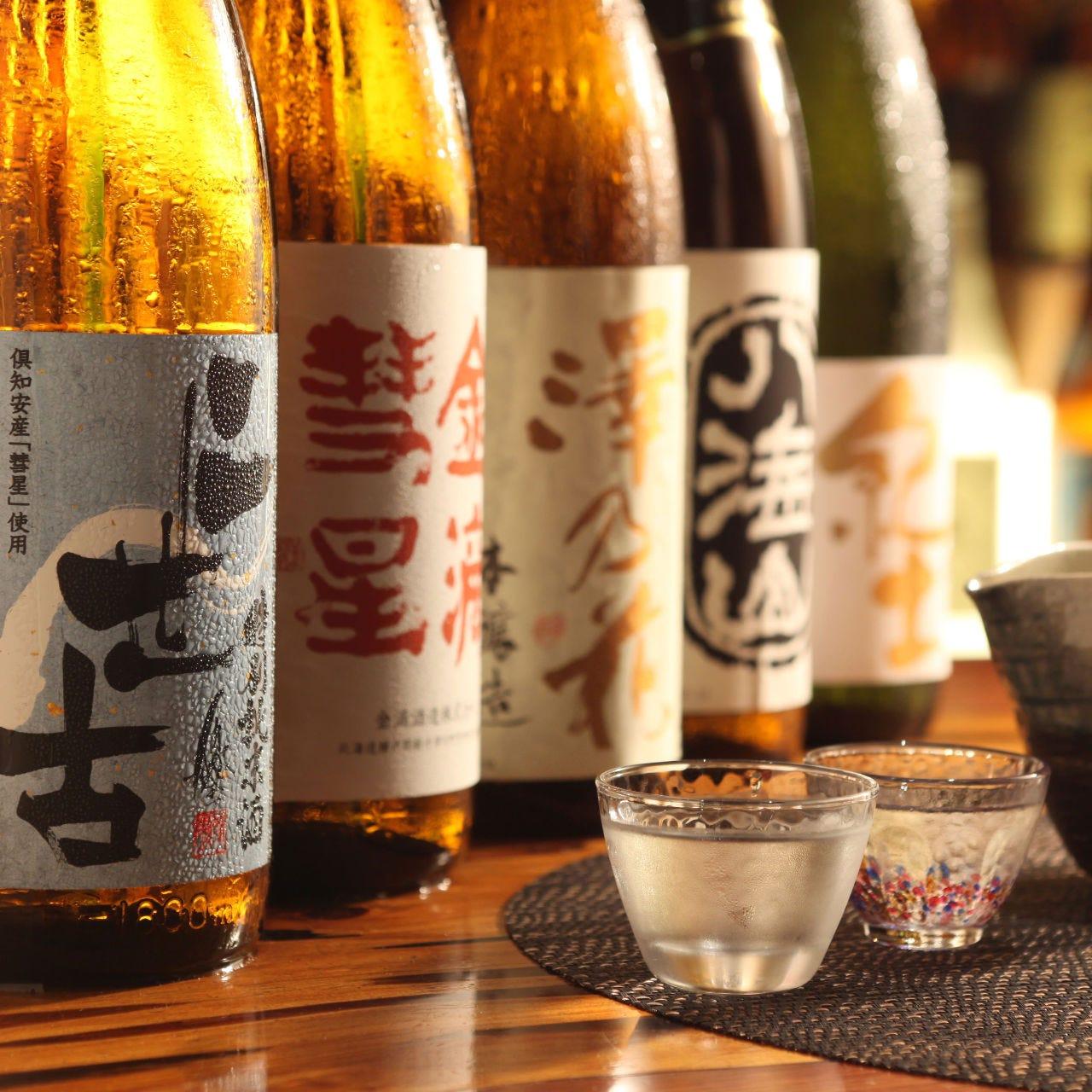 《厳選地酒》地酒480円~飲めます。