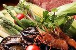 ◆特選素材◆ 季節の素材を贅沢に御賞味下さい。