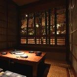 ◆寛ぎの個室◆ 最大32名様まで対応の広々とした掘りごたつ空間