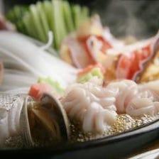 冬の看板料理【ちゃんこ鍋】 開店以来、当店人気の定番鍋料理