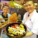 【亀戸店】活きのいいスタッフとお魚がお待ちしております!