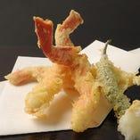ずわい蟹天ぷら(三本)