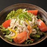 豚しゃぶと水菜サラダ