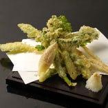 季節のお野菜天ぷら
